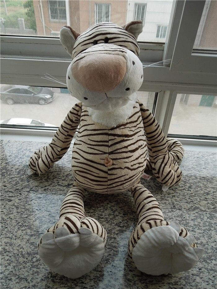 Free shipping NICI tiger plush toy 80cm big size ,factory supply tiger soft stuffed doll plush gift <br><br>Aliexpress