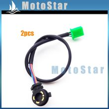 2x 5 Wire Motorcycle Gear Position Sensor For 50cc 70cc 90cc 110cc 125cc Chinese ATV Quad 4 Wheeler Dirt Pit Motor Bike Go Kart