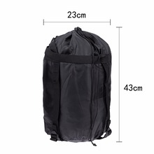 43x23x23cm Lightweight Outdoor Sleeping Bag Waterproof Compression Stuff  Sack Dry Carry Bag For Camping Hiking Mountaineering