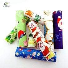 Felt felt diy printed christmas fabric thick1.2mm polyester felt mix soft from home textiles for sewing handicrafts 20x30cmM-ZH(China)