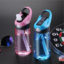 Sports Water Bottle High Quality Tour Hiking Portable Bottles 400ml 600ml(China)