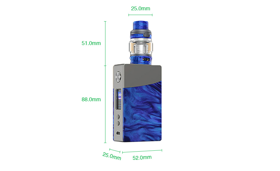 Geekvape NOVA 200W TC Kit with Alpha Tank