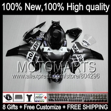 Bodys Grey For HONDA CBR1000RR 08-11 CBR1000 RR 40JK10 Repsol black CBR 1000RR 1000 RR 08 09 10 11 2008 2009 2010 2011 Fairing