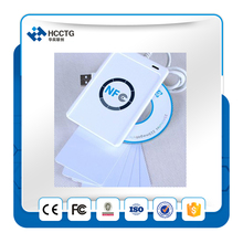 NFC ACR122U RFID smartcard USB Port Smart Card Reader & Writer with UID writeable clone S50 IC Access Control Card
