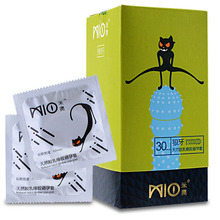 Buy MIO 30Pcs G spot Big Particle Condoms Jasmine Flavor Natural Latex Rubber Condom