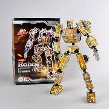 D495 Free shipping 3 d puzzle robot design shows the special edition Christmas birthday gift