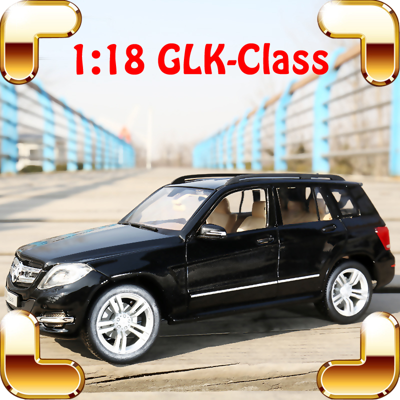 New Arrival Gift GLK 1/18 Model Metal SUV Car Diecast Design Best Collection Alloy Frame Openable Doors House Decoration Toys<br><br>Aliexpress