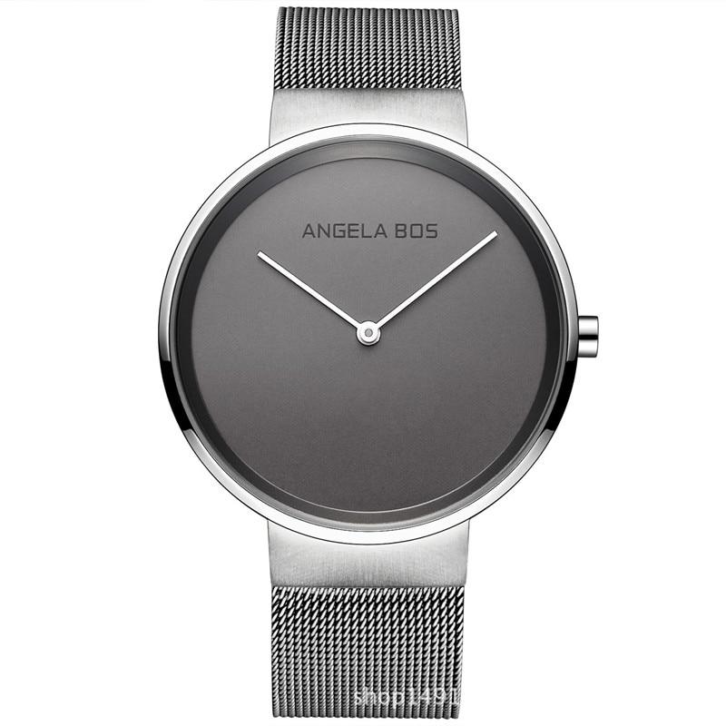 reloj hombre Top Brand Women Watches Ultra Thin Stainless Steel Band Casual Quartz Ladies watch  men Wristwatch Relogio Feminino<br>