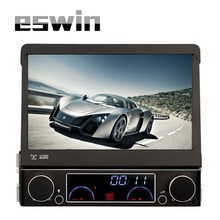 1 Single Din dvd Player With GPS Navigation Car Multimedia System Auto Video Audio Built-in Bluetooth USB SD Aux-in Radio FM AM