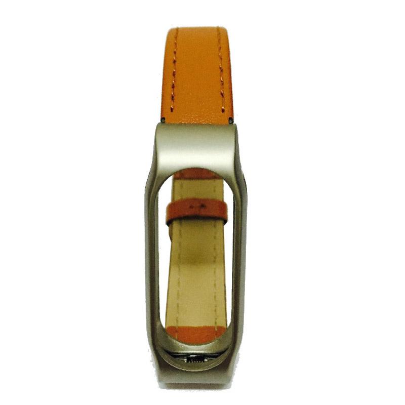 For Xiaomi Mi Band 2 Leather Strap Wrist Band For Mi band 2 Screwless Bracelet for Miband 2 For mi 2 wristband Smart Accessory 8