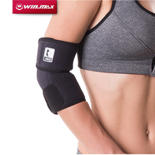WINMAX New Arrival Professional Elbow Brace Relief Elbow Adjustable Elastic Strong Sports Badminton Elbow Support Protector Pad(China)