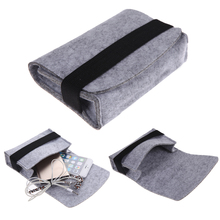 "High Quality 2pcs 2.5"" Mini USB Hard Drive Disk HDD Carry Case Cover Pouch Bandage Bag for PC Laptop"