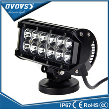 China cheap 10~30v 6.5inch 36w flood spot combo offroad led light bar 6000k for ATV 4x4 truck 4WD