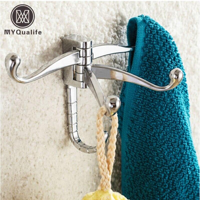 49% Акция латунь хром Настенный Ванная комната одежда крюк вешалки Hat Полотенце держатель подарок(China)