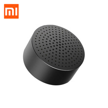 Original Xiaomi Mi Bluetooth Speaker Portable Wireless Mini Round Box Speaker for Xiomi Xaomi Redmi note 3 Android Tablet(China)