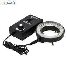 New Fashion 60 LED Adjustable Ring Light illuminator Lamp For STEREO ZOOM Microscope For Sale(China)