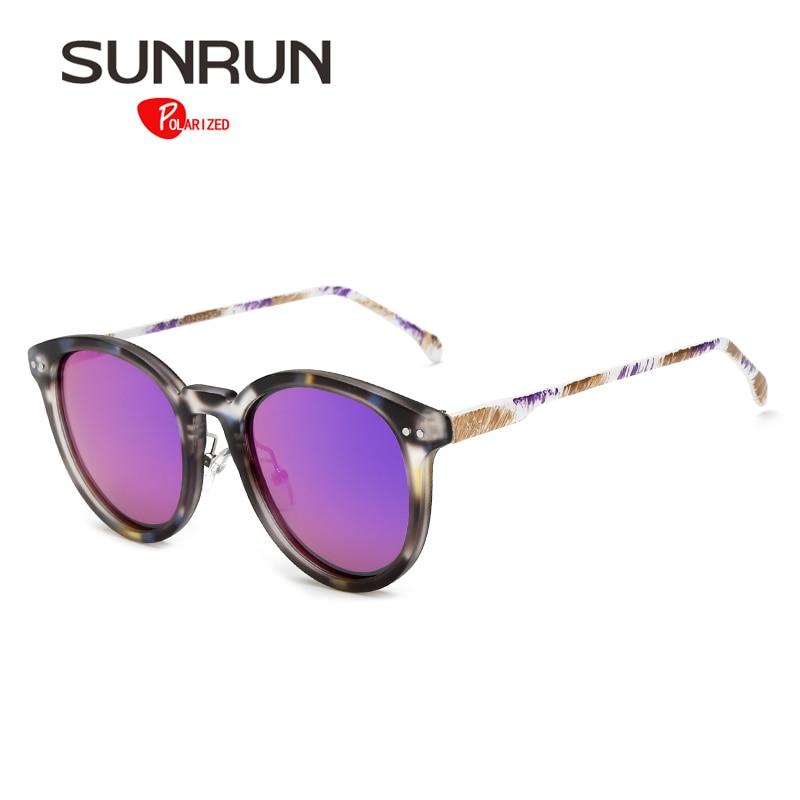 SUNRUN Women Sunglasses Polarized Metal Colorful Frame Stylish Sun Glasses Men Brand Design lunettes de soleil femme Y9904<br><br>Aliexpress