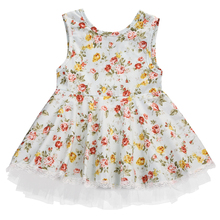 Toddler Kids Newborn Baby Girls Dress Printing Wedding Princess Kids Dress Party Pageant Dresses For Kids Girl clothing