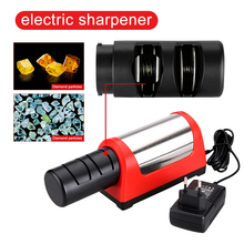 TAIDEA GRINDER Professional Electric Knife Sharpener 2 Stage Grinder affuteur Kitchen Diamond Sharpening System Afiador de faca(China)