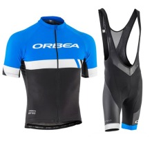 2017 Orbea Cycling Jersey Summer Team Short Sleeves Cycling Set Bike Clothing Ropa Ciclismo Cycling Clothing Sports Suit 9D Pad(China)