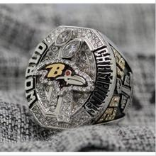 REPLICA 2012 Super bowl XLVII CHAMPIONSHIP RING Baltimore Ravens 7-15 Size Copper Engraved Inside(China)