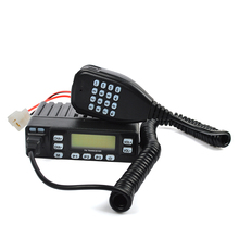 HYS VHF UHF mobile transceiver Dual Band Radio with 199 channels, USB cable TC-898UV(China)