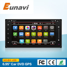 2 din Android 6.0  New universal Car Radio Double Car DVD for old toyota Player GPS Navigation In dash Car PC Stereo video