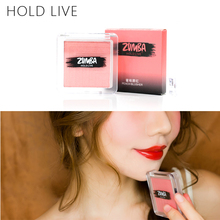 HOLD LIVE Peach Color Makeup Blush With Brush Face Blusher Powder Palette Cosmetics Professional Makeup Product 6 Colors Cheek