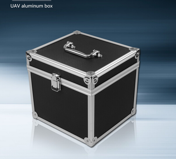 22*26*21.5cm Aluminum Box Folding Copter Carrying Box Tool Suitcase for FPV(Can be used for carrying folding copter or tools)<br><br>Aliexpress