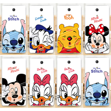 Cute Donald Duck Mickey Mouse Perfect Design Cell Phone Case Fundas For Sony Xperia ZR C5502 C5503 M36h Case Shell Cover