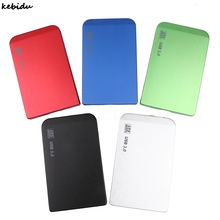 "kebidu 1pcs Hot Sale HDD External Enclosure Tool 2.5 inch USB 3.0 Hard Drive Disk Box Case for 2.5"" SATA HDD Case For PC(China)"
