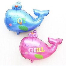 Large Whales Balloons New Giant Animal Whale Balloon For Balloon Wedding Birthday Party Decoration Large Whales Balloons(China)