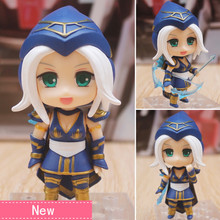 Anime game Ashe PVC Action Figure Collectible Model doll toy 10cm 901#(China)