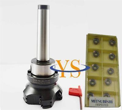 New MT3 M12 FMB27 + EMR-5R80-27-6T  face end mill +10pcs Mitsubishi carbide insert Mill<br><br>Aliexpress