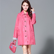 Brand Women Raincoat cloak Lightweight Poncho  Ladies Waterproof Long  Rain Coat capa de chuva