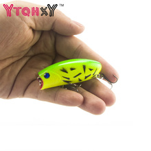 1PCS 11g 5.5cm Poppers Fishing lure Top Water pesca fish lures wobbler isca artificial hard bait Topwater swimbait YE-21