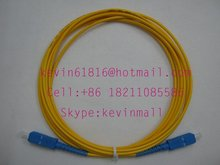 3m optical fiber jumper pigtail SC-SC Connector single model  good quality. FiberCore