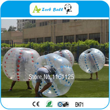 8pcs Cheap Factory Price Free Shipping cost+Free Logo+ repaired kits inflatable body zorb ball bumper ball soccer bubble