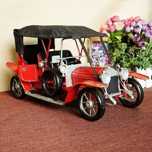 Large Metal Retro Classic Cars Model Car Models Home Decoration Living Room Bar Shop Decoration Send Boyfriend
