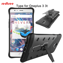 Oneplus 3t Case 360 Degree Rotation Armor Transformers Full Cover Iron Man Case with Holder for Oneplus 3 Shockproof(China)