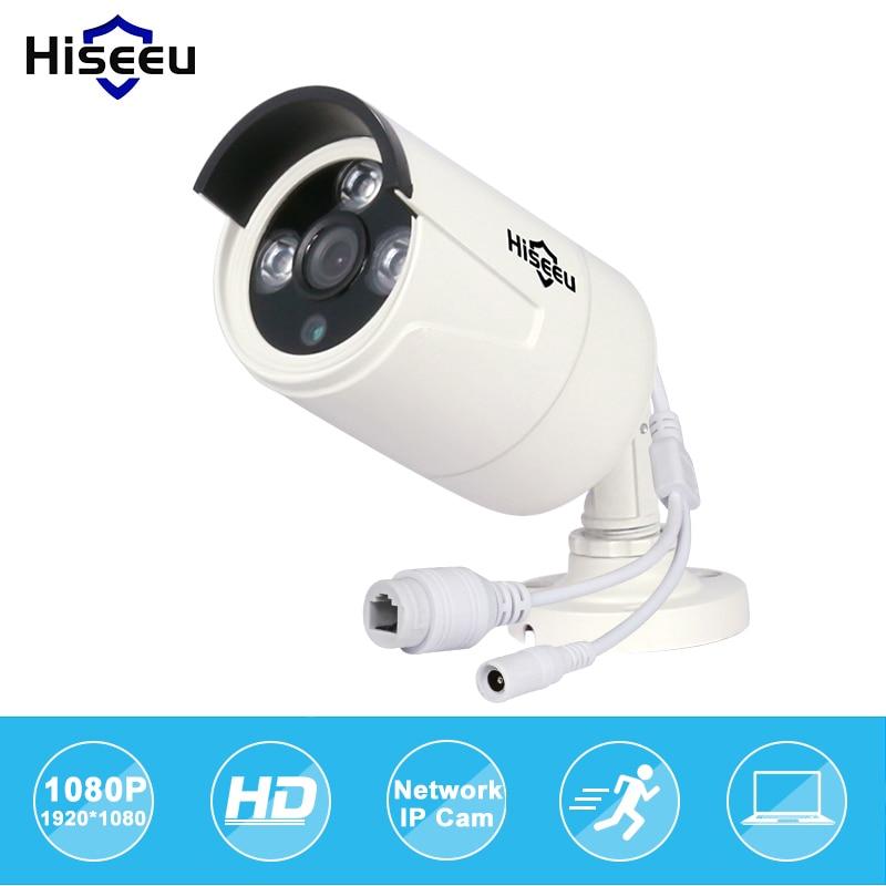 Hiseeu Hd POE 1080p 2.0mp Ip Wired Camera Waterproof IR Outdoor CUT Night Vision Baby Monitor Camaras De Seguridad Dropshipping<br>