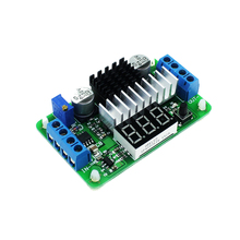 Smart Electronics LTC1871 DC-DC Boost Converter Adjustable Step-Up High Power Supply Module LED Voltage Meter/Button Switch
