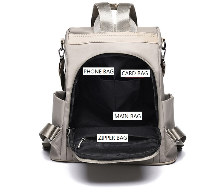 Large Capacity Backpack Women Preppy School Bags for Teenagers Female Oxford Travel Bags Girls Bear Pendant Backpack Mochilas 8 Online shopping Bangladesh
