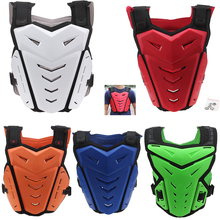 Outdoor Sports Racing Motocross Armour Motorcycle Jacket Dirt Bike Toddler Kid Body Armour Off Road Gear Protection Cafe Racer(China)