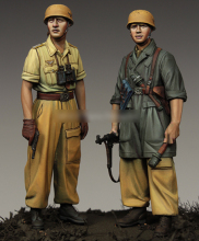 [tuskmodel] 1 35 scale resin model figures kit WW2 A222(China)
