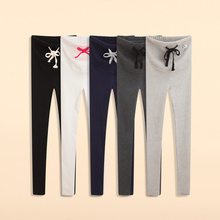 New arrival Multi-color Thread Prop Belly Legging Autumn 100% Cotton Pregnant Knitted Legging w064