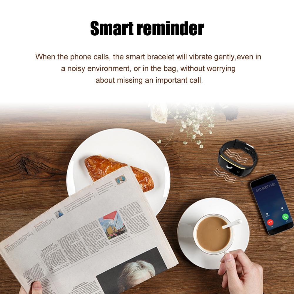 Waterproof Android Pedometer + Blood Pressure & Heart Rate Monitor Wrist Watch 15