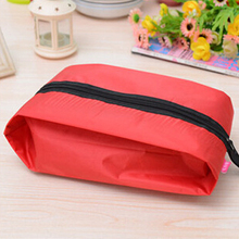 Waterproof Travel Outdoor Home Tote Shoe Zip Organizers Pouch Storage Bag