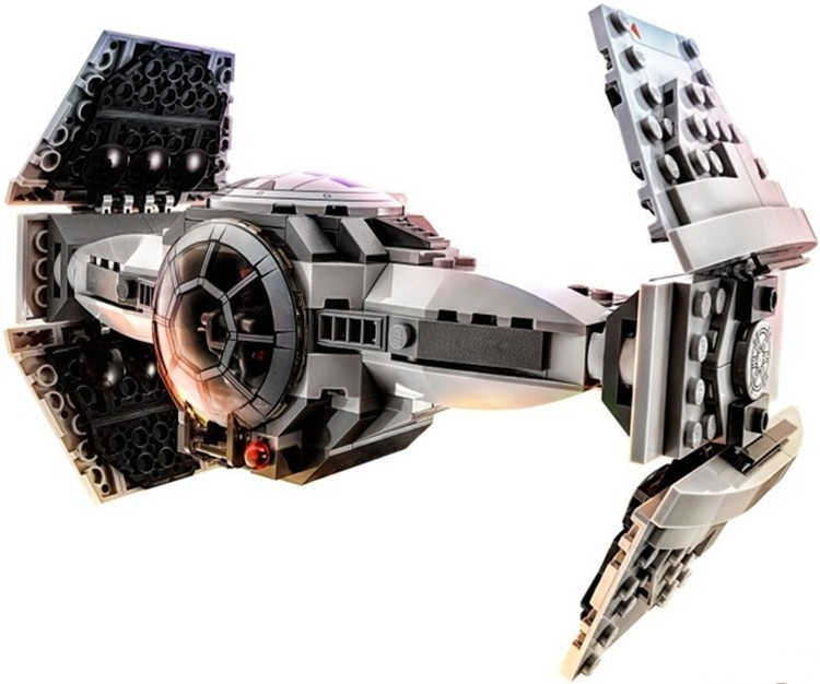 354pcs Star Wars The Force Awakens TIE Advanced Prototype Building Blocks Toys Gifts  Compatible With Legoe<br><br>Aliexpress