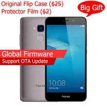 "Official Global Firmware Original Huawei Honor 5C 4G FDD Mobile Phone 2G Ram 16g ROM Octa Core 5.2"" FHD 1080P 13.0MP Fingerprint"